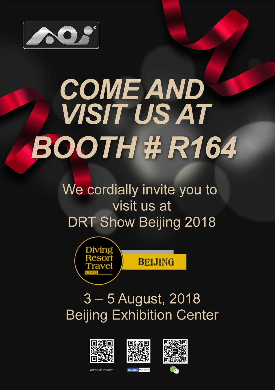 AOI Invitation to DRT Show Beijing 2018